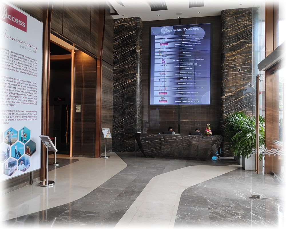 Lobby of Access Tower 2