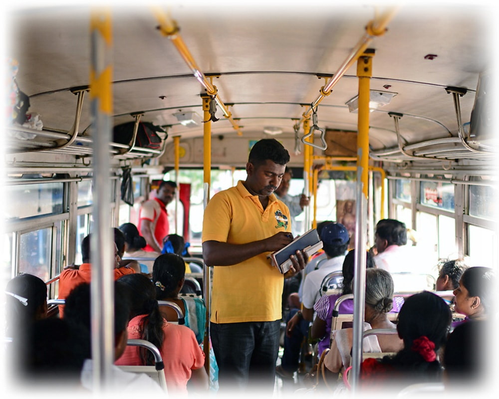conductor on bus