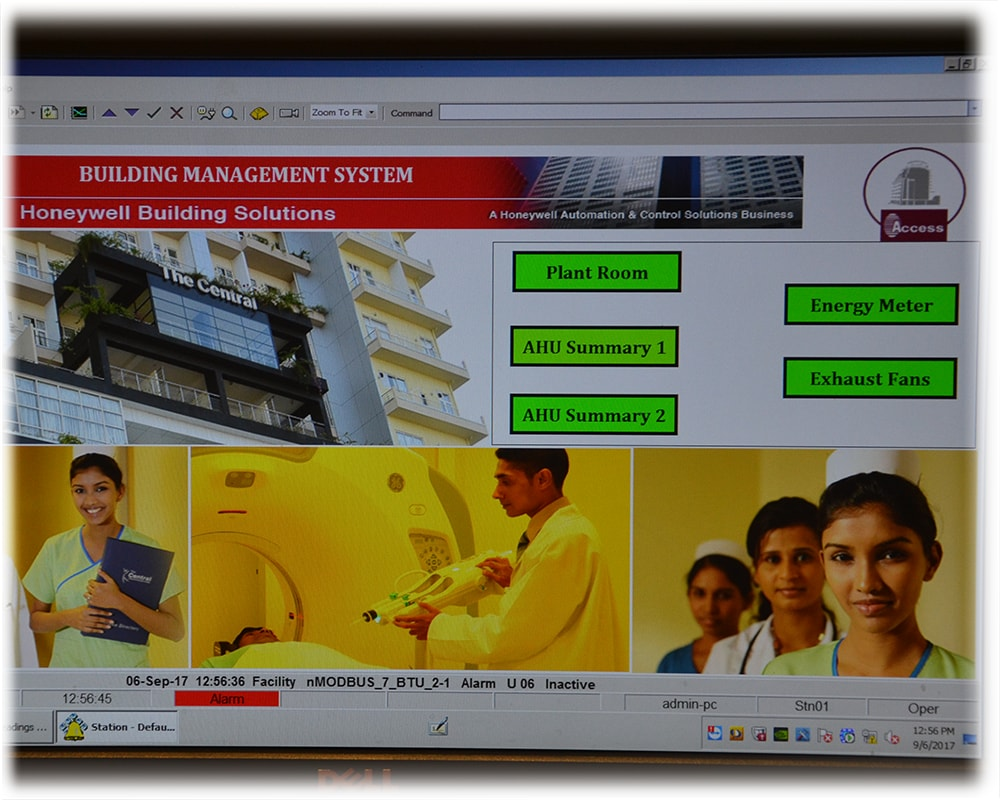 Building Management System UI