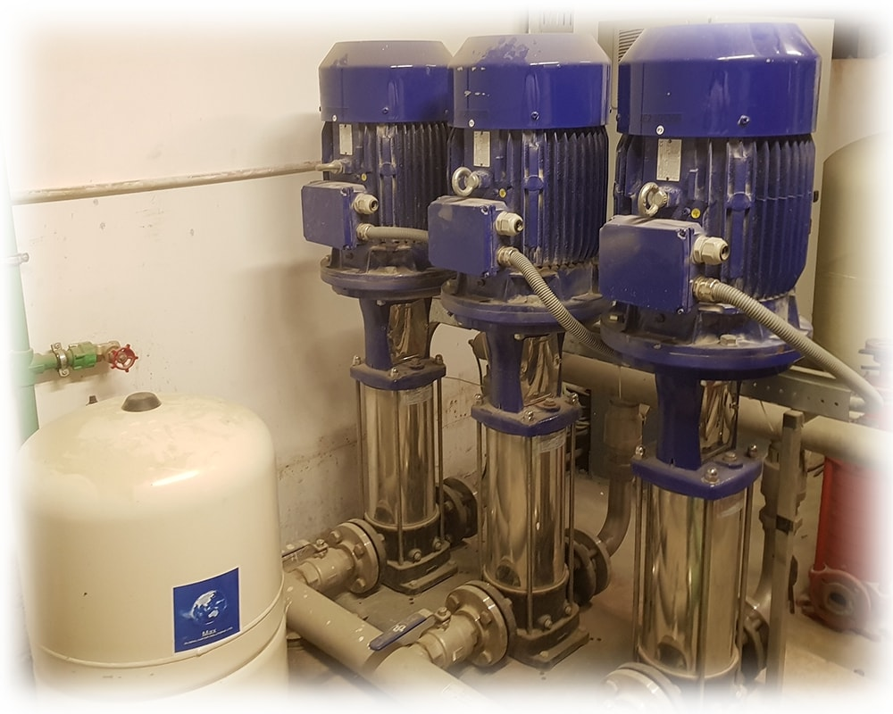 vertical water pumps