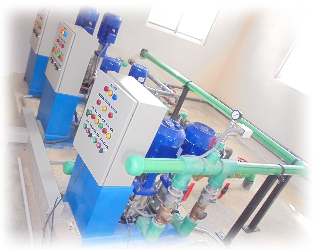 zonal water pump system
