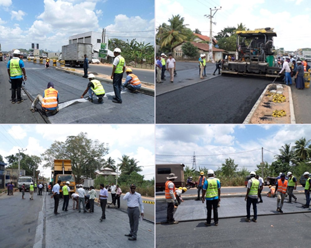 Application of Geosysnthetics  for Road Construction Projects